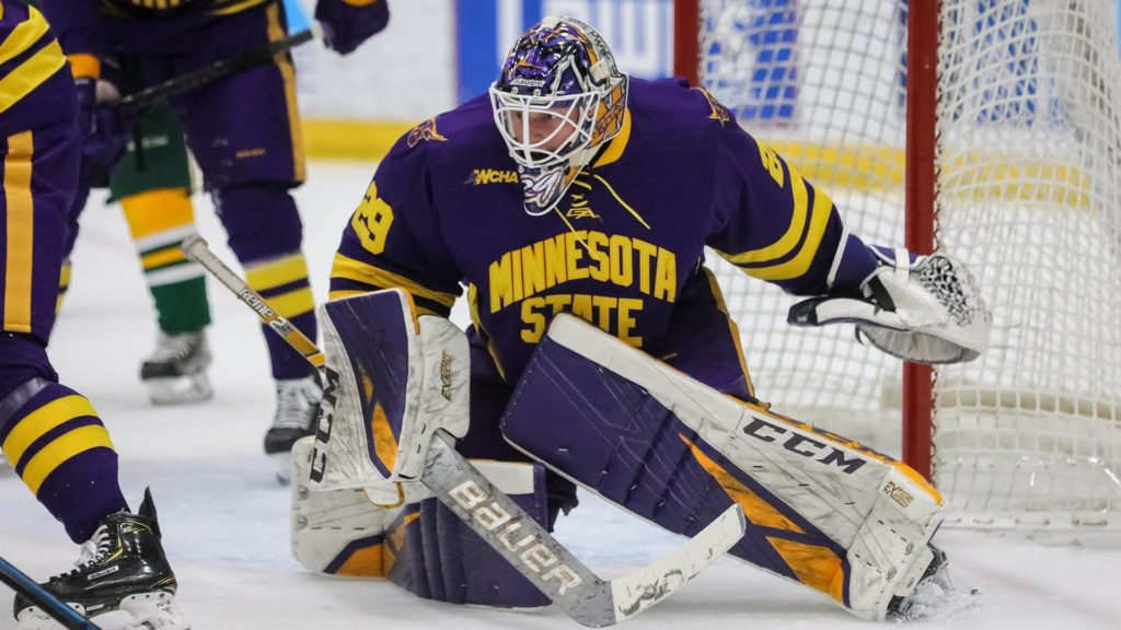 'Not too excitable' McKay leading national powerhouse Minnesota State from between the pipes
