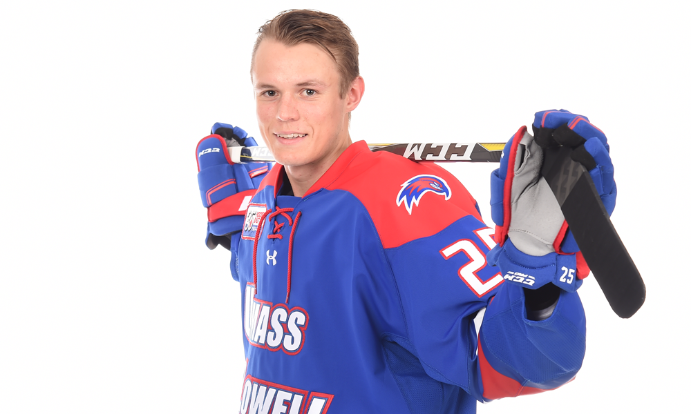 UMass Lowell defenseman Sawchuk out for season after suffering broken vertebrae against Merrimack