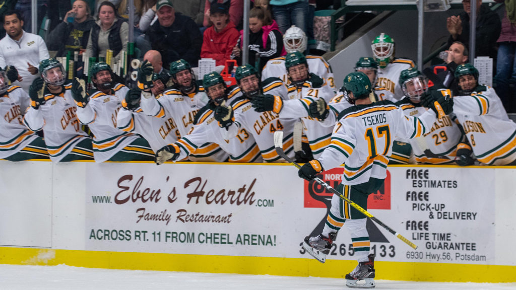 This Week in ECAC Hockey: With shot at regular-season title, Clarkson 'ecstatic,' knows 'a lot at stake this weekend in the league'