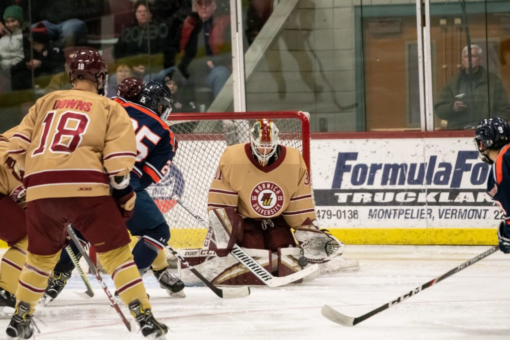 Aubrun from Norwich named USCHO D-III Player of the Year