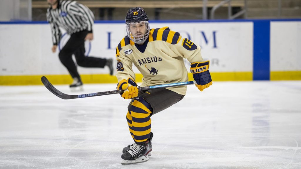 USCHO GAME OF THE WEEK: Canisius-Bentley open Atlantic Hockey playoffs as both teams angling 'to do what it takes to win'
