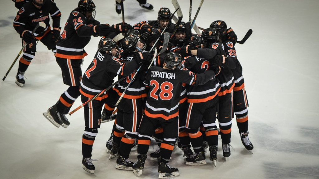 This Week in ECAC Hockey: Princeton opens playoffs sweeping Dartmouth, Cornell next as Tigers 'going to give it our best effort'